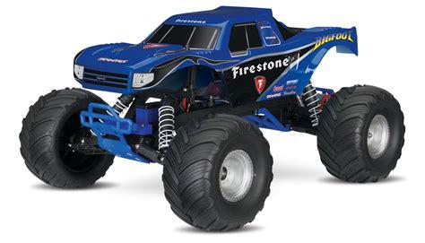 bigfoot 10 monster truck traxxas bigfoot 1 10 rtr monster truck firestone
