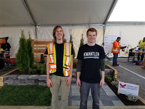 skills canada bc landscape gardening competition gold