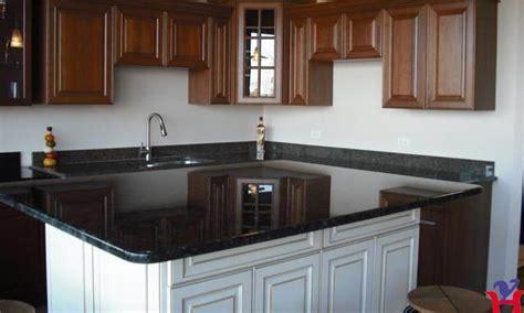 cuisine comptoir noir