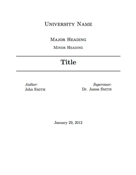 cover letter academic latex