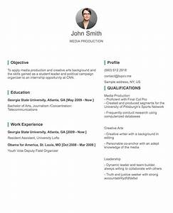 Professional cv resume builder online with many templates for Create my resume for me