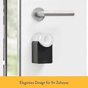 Elektronisches Türschloss Wlan : nuki combo smart lock und bridge elektronisches t rschloss automatischer t r ffner ~ Yasmunasinghe.com Haus und Dekorationen