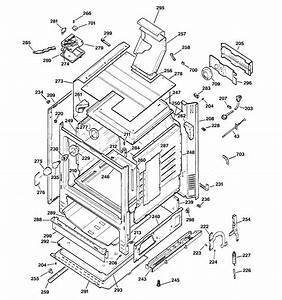 Body Parts Diagram  U0026 Parts List For Model Rgb745bea7wh