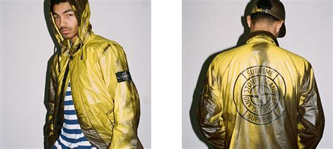 Supreme And Stone Island?s Colour Changing Coats Heat Up