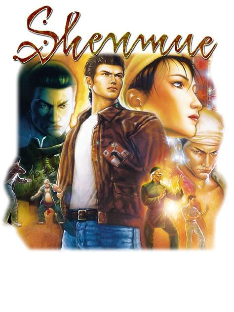 Shenmue 2 Box Art Stickers By Mouseteeeeeth Redbubble