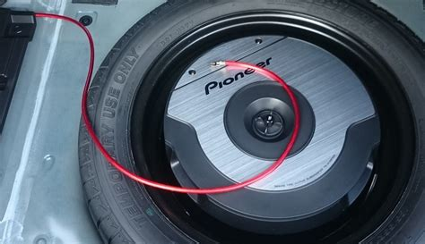 spare tyre subwoofer pioneer ts wx610a in mazda 6 3rd installation guide galloper s