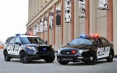 Police Ford Wallpapers Desktop Interceptor Cars Taurus