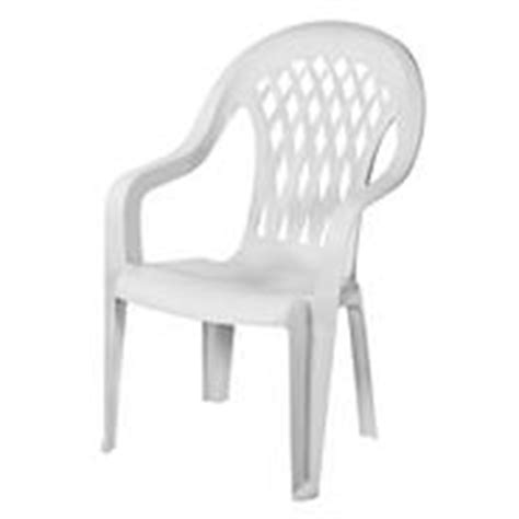 high back resin plastic patio chairs from kmart
