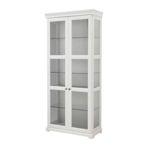 white glass cabinet doors liatorp glass door cabinet white ikea