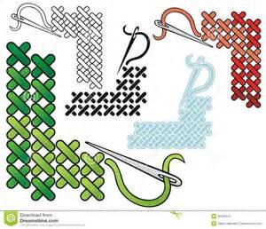 Cross Stitch Border Clip Art