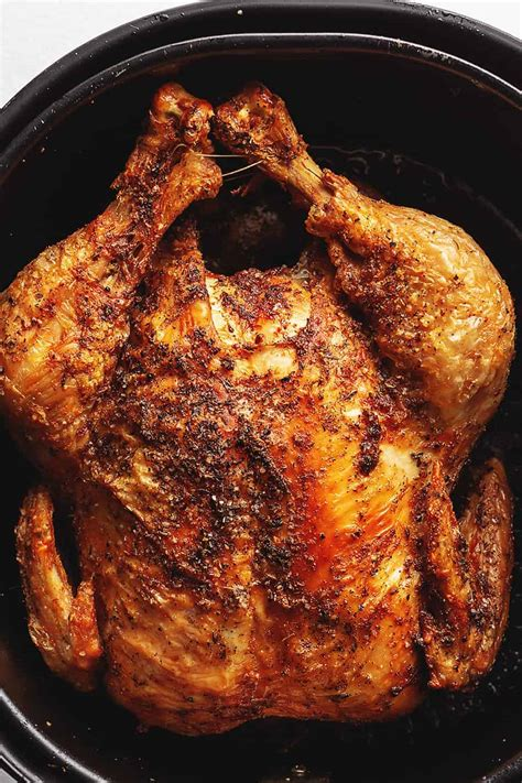 chicken whole fryer air fry recipe easy crispy use recipes cook skin meat extra jenniferbanz roast airfryer rotisserie making frier