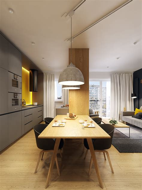 apartment designer modern scandinavian apartment interior design with gray color shade roohome designs plans