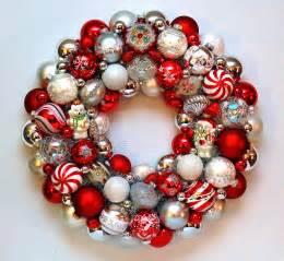 judy blank christmas ornament wreath with polar bears sold onekingslane com shop judyblank
