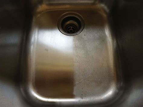 stainless steel kitchen sink cleaner a way to clean and shine my stainless steel sink hometalk 8263