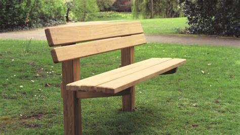 staxton wooden bench youtube