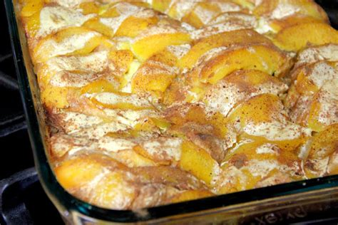 Adventures All Things Food Overnight Peach French
