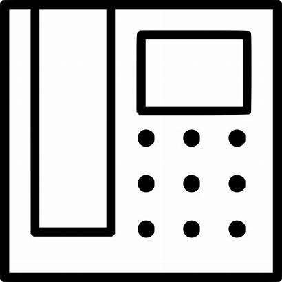 Office Icon Telephone Svg Onlinewebfonts