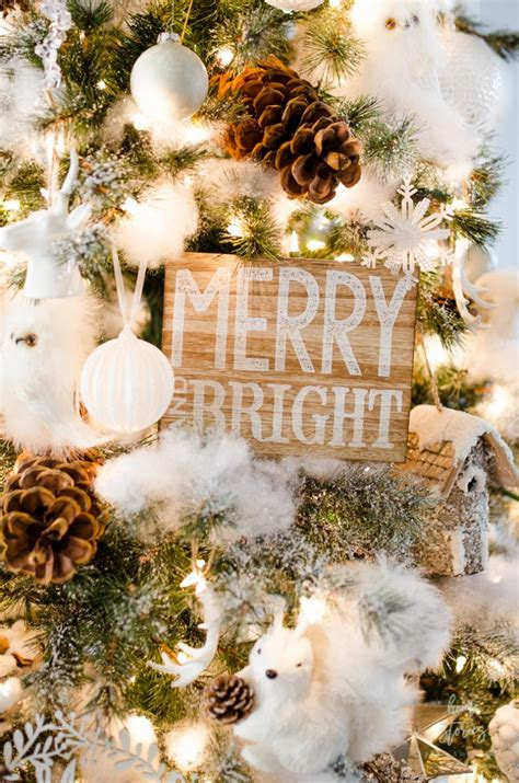 tips    decorate  christmas tree rustic glam