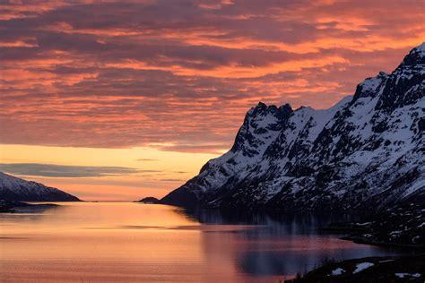sunset today terjelm norway