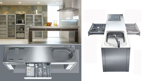 Kitchen System by Actyes Japanese Stainless Steel Kitchen System
