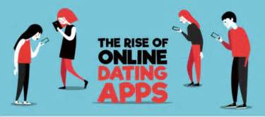 infographic   rise   dating apps