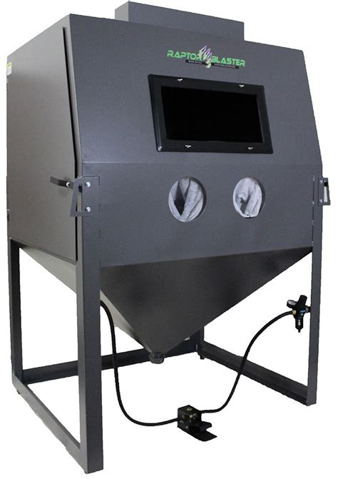 Media Blasting Cabinet Manufacturers by Raptor Blaster Rb5446 Abrasive Media Blasting Cabinet