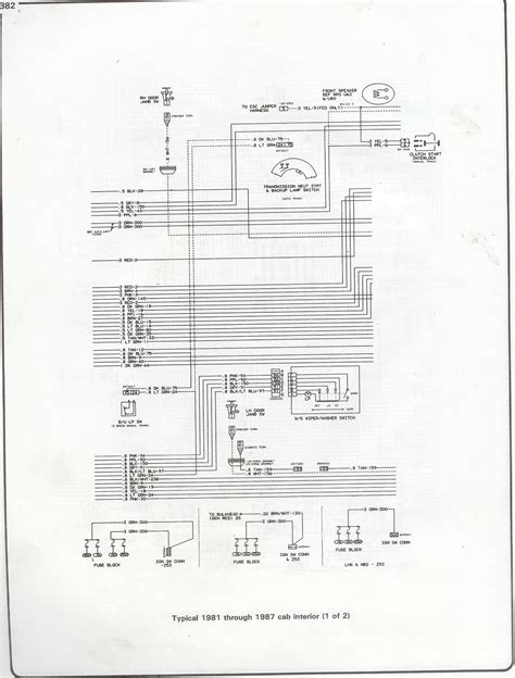 73 Chevy C10 Wire Diagram by Complete 73 87 Wiring Diagrams