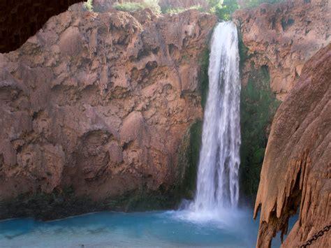 Havasu Falls Trail Az From Mooney To Beaver Falls And The