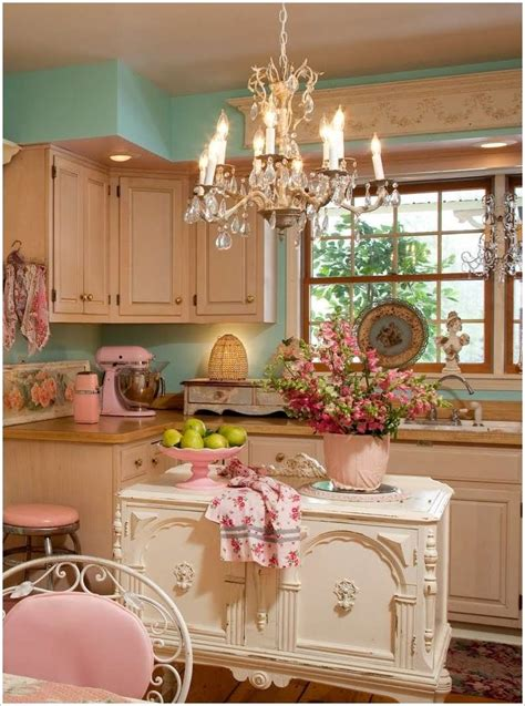 shabby chic pink and blue kitchen 8 shabby chic kitchens that you ll fall in love with fun corner