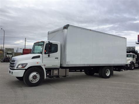 2018 Hino 268 Box Van Truck For Sale #286179