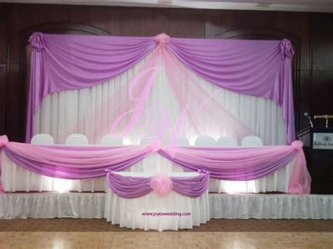pink wedding decorations pink and purple wedding decoration joyce wedding services