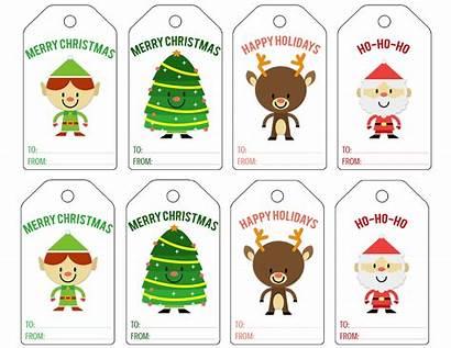 Christmas Tag Printable Gift Printables Cut Them