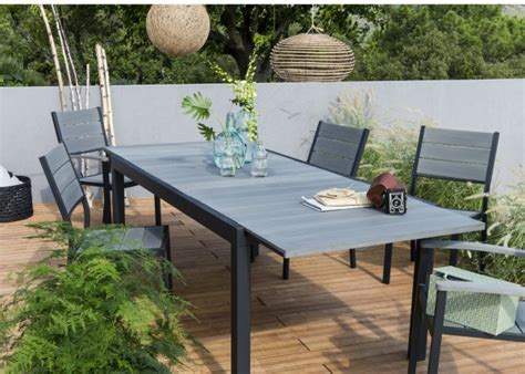 table et chaises de jardin leroy merlin mobilier exterieur leroy merlin