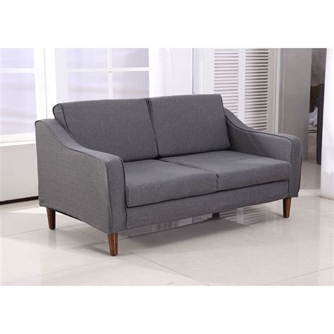 Chaise Lounge Loveseat by Homcom Sofa Chaise Lounger Living Room Lounge