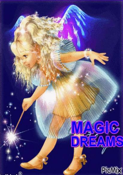 Night Magical Animated Quotes Fairy Sparkling Fairies