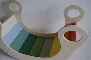 Einbauschränke Für Dachschrägen Selber Bauen : eine regenbogenwippe bauen diy von schwesternliebe wir ~ Markanthonyermac.com Haus und Dekorationen