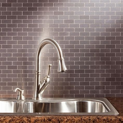 peel and stick backsplash for kitchen peel and stick tile backsplash review of pros and cons