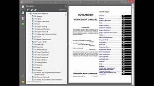 Mitsubishi Outlander  2003  - Service Manual    Repair Manual - Wiring Diagrams