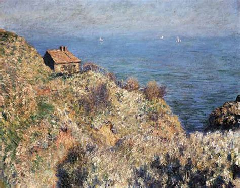 the house of the douaniers in varengevil claude monet