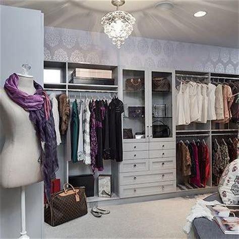 lavender and silver wallpaper design ideas