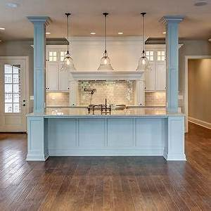 stone columns design ideas With kitchen cabinets lowes with custom large vinyl wall art