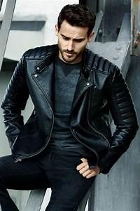 L Homme Tendance : trouvez votre mod le de veste en cuir homme ~ Carolinahurricanesstore.com Idées de Décoration