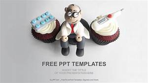 doctor themed cupcakes medical ppt download free With free medical themed powerpoint templates
