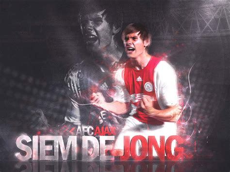 siem de jong wallpaper football wallpaper