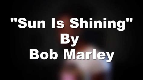sun is shining cover sun is shining bob marley jovel johnson cover youtube