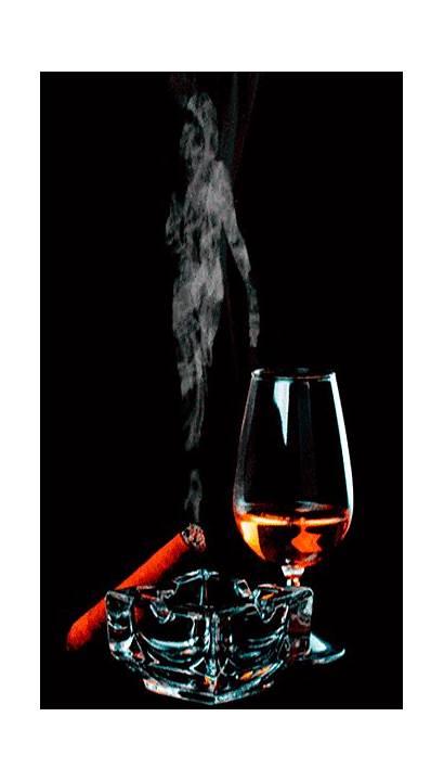 Whiskey Smoke Cigars Whisky Birthday Happy Gifs