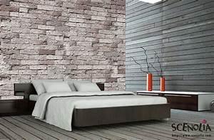 Tapisserie 4 Murs : tapisserie imitation pierre 14 4 murs papier peints ~ Zukunftsfamilie.com Idées de Décoration