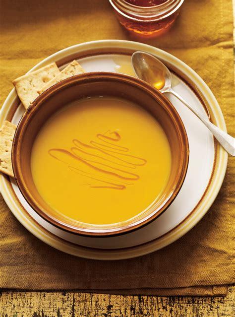 creme de carottes jaunes  poireaux au safran ricardo