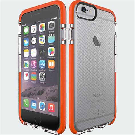 tech 21 iphone tech21 impactology classic check for iphone 6 clear