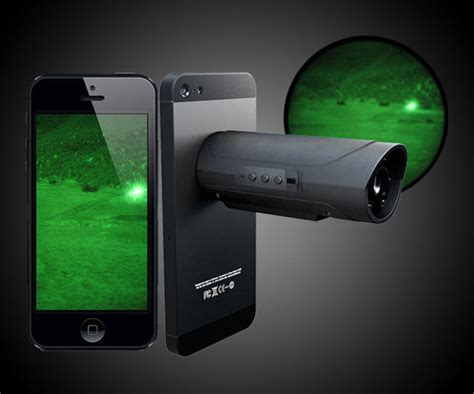 lights with smartphone snooperscope lets you use your smartphone for